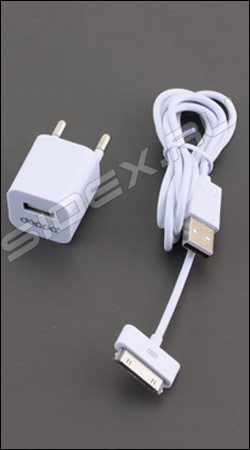 ������� �������� ���������� usb 1� + ����-������ ��� iphone / ipod deppa