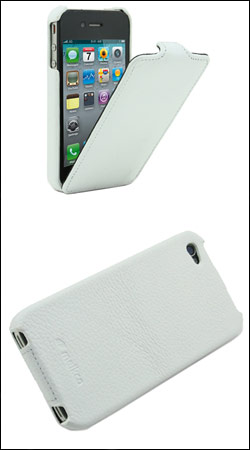 чехол для iphone 4 / 4s melkco jacka type lc (белый)