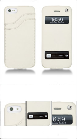 ��������� ����� ��� iphone 5 / 5s noreve leather case 2104t2d (�����)