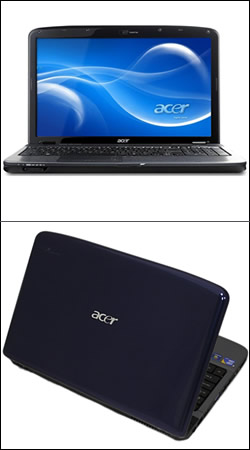 "ноутбук acer aspire 5740-333g25mi (core i3 330m 2130 mhz/15.6""/1366x768/3072mb/250.0gb/dvd-rw/wi-fi/bluetooth/win 7 hb) 15.6 дюймов (black)"