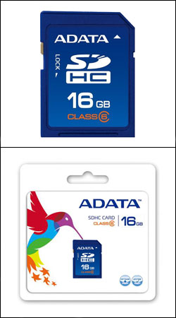 sd sdhc 16gb class 6 (a-data asdh16gcl6-r)