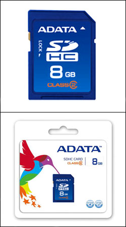 sd sdhc 8gb class 6 (a-data asdh8gcl6-r)