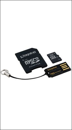 kingston mbly10g2/4gb microsdhc 4gb + usb адаптер + sd адаптер