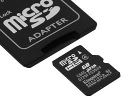 microsdhc 8gb (kingston sdc4/8gb)