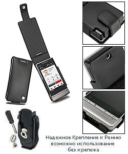 чехол для htc touch diamond2 t5353 noreve (черный)