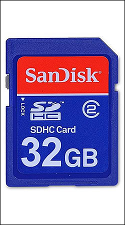 sandisk sdhc card 32gb class 2 sd sdhc