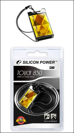 silicon power touch 850 16gb (янтарь)