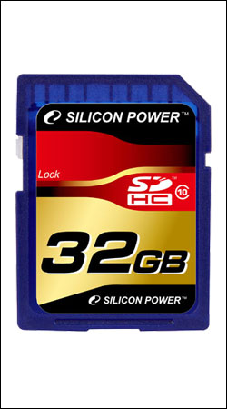 silicon power sdhc card 32gb class 10 (sp032gbsdh010v10)
