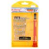 Набор отверток для мобильных телефонов 6066-B (отвертка + сменные насадки 30 шт. + пинцет +магнитный держатель)