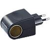 Переходник прикуриватель розетка 220 вольт на 12 вольт 500 mA