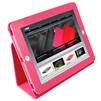 Кожаный чехол для Apple iPad 2 XDM id2-C4 (розовый)