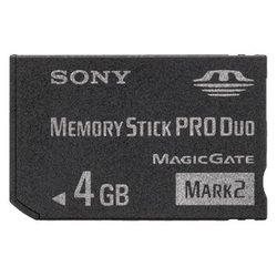 Memory Stick PRO Duo MARK2 4GB (MSMT4G SONY OРИГИHAЛ)