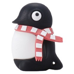bone collection penguin driver 8gb dr07021-8bk (черный)