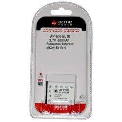 Аккумулятор для Nikon AcmePower AP EN-EL10 660mAh