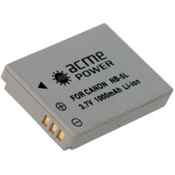Аккумулятор для Canon (AcmePower AP NB-5L) 1000mAh