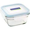 Контейнер пищевой Glasslock OCST-040 (405 мл) (стекло) - Посуда для готовкиПосуда для готовки<br>Glasslock OCST-040 - пищевой контейнер, форма квадратная, объем 405 мл, материал закаленное стекло, крышка с защелками, использование в СВЧ, размеры: 57x115x115 мм.<br>