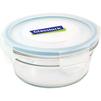 Контейнер пищевой Glasslock OCCT-045 (450 мл) (стекло) - Посуда для готовкиПосуда для готовки<br>Glasslock OCCT-045 - пищевой контейнер, форма круглая, объем 450 мл, материал закаленное стекло, крышка с защелками, использование в СВЧ, размеры: 130х57 мм.<br>