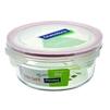 Контейнер пищевой Glasslock OCCT-085 (850 мл) (стекло) - Посуда для готовкиПосуда для готовки<br>Glasslock OCCT-085 - пищевой контейнер, форма круглая, объем 850 мл, материал закаленное стекло, крышка с защелками, использование в СВЧ, размеры: 160х68 мм.<br>