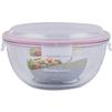 Контейнер пищевой Glasslock MBCB-600 (6000 мл) (стекло) - Посуда для готовкиПосуда для готовки<br>Glasslock MBCB-600 - пищевой контейнер, форма круглая, объем 6000 мл, материал закаленное стекло, крышка с защелками, использование в СВЧ, размеры: 299х138 мм.<br>