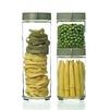 Набор контейнеров Glasslock IG-588 (стекло) - Посуда для готовкиПосуда для готовки<br>Glasslock IG-588 - набор контейнеров для сыпучих продуктов, 3 штуки, объем - 0.4 л, 0.6 л, 1.05 л.<br>