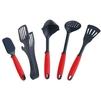 Набор кухонных аксессуаров Swiss Diamond SDTS02 (5 предметов) - Лопатка, венчик, ложка, половник, щипцы