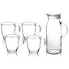 Набор посуды Glasslock IG-667 (стекло) - Посуда для готовкиПосуда для готовки<br>Glasslock IG-667 - набор посуды - кувшин - 2 л, 4 чашки, материал - стекло.<br>