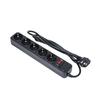 Сетевой фильтр 5 розеток 3м (Exegate SP-5-3B) (черный) - Сетевой фильтрСетевые фильтры<br>5 розеток с заземлением, тип защиты: термопрерыватель, совмещенный с выключателем, длина кабеля 3м.<br>