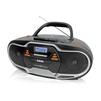 BBK BX518BT (черный) - МагнитолаМагнитолы<br>BBK BX518BT - аудиомагнитола - 8Вт, CD, CDRW, MP3, FM(dig), USB, BT.<br>