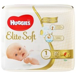 Huggies Elite Soft 1 (до 5 кг) 27 шт.
