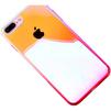 Чехол-накладка для Apple iPhone 7 Plus (Baseus Polychrome Case WIAPIPH7P-LC04) (розовый) - Чехол для телефонаЧехлы для мобильных телефонов<br>Чехол плотно облегает корпус и гарантирует надежную защиту телефона от царапин, потертостей и других внешний воздействий.<br>