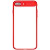 Чехол-накладка для Apple iPhone 7 Plus (Baseus Mirror Case WIAPIPH7P-MJ09) (красный) - Чехол для телефонаЧехлы для мобильных телефонов<br>Чехол плотно облегает корпус и гарантирует надежную защиту телефона от царапин, потертостей и других внешний воздействий.<br>
