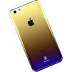 Чехол-накладка для Apple iPhone 7 (Baseus Polychrome Case WIAPIPH7-LC02) (черный) - Чехол для телефонаЧехлы для мобильных телефонов<br>Чехол плотно облегает корпус и гарантирует надежную защиту телефона от царапин, потертостей и других внешний воздействий.<br>