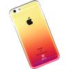 Чехол-накладка для Apple iPhone 7 (Baseus Polychrome Case WIAPIPH7-LC04) (розовый) - Чехол для телефонаЧехлы для мобильных телефонов<br>Чехол плотно облегает корпус и гарантирует надежную защиту телефона от царапин, потертостей и других внешний воздействий.<br>