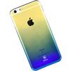 Чехол-накладка для Apple iPhone 7 (Baseus Polychrome Case WIAPIPH7-LC15) (синий) - Чехол для телефонаЧехлы для мобильных телефонов<br>Чехол плотно облегает корпус и гарантирует надежную защиту телефона от царапин, потертостей и других внешний воздействий.<br>