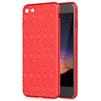 Чехол-накладка для Apple iPhone 7 (Baseus Plaid Case WIAPIPH7-GP09) (красный) - Чехол для телефонаЧехлы для мобильных телефонов<br>Чехол плотно облегает корпус и гарантирует надежную защиту телефона от царапин, потертостей и других внешний воздействий.<br>