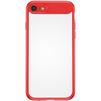 Чехол-накладка для Apple iPhone 7 (Baseus Mirror Case WIAPIPH7-MJ09) (красный) - Чехол для телефонаЧехлы для мобильных телефонов<br>Чехол плотно облегает корпус и гарантирует надежную защиту телефона от царапин, потертостей и других внешний воздействий.<br>