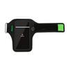 Спортивный чехол для смартфонов 5 (Baseus Flexible Wristband CWYD-A06) (черно-зеленый) - Универсальный чехол для телефонаУниверсальные чехлы для мобильных телефонов<br>Чехол плотно облегает корпус и гарантирует надежную защиту от царапин и потертостей.<br>