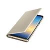 Чехол-книжка для Samsung Galaxy Note 8 (LED View Cover EF-NN950PFEGRU) (золотистый) - Чехол для телефонаЧехлы для мобильных телефонов<br>Чехол плотно облегает корпус и гарантирует надежную защиту от царапин и потертостей.<br>