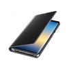 Чехол-книжка для Samsung Galaxy Note 8 (Clear View Standing Cover EF-ZN950CBEGRU) (черный) - Чехол для телефонаЧехлы для мобильных телефонов<br>Чехол плотно облегает корпус и гарантирует надежную защиту от царапин и потертостей.<br>