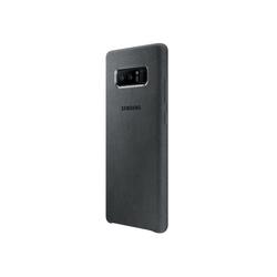 Чехол-накладка для Samsung Galaxy Note 8 (Alcantara Cover EF-XN950AJEGRU) (темно-серый)