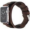 Ремешок для Apple Watch 42mm (Cozistyle Wide Leather Band CWLB12) (коричневый) - Ремешок для умных часовРемешки для умных часов<br>Ремешок выполнен из натуральной кожи. Он надежно крепится на металлическом замке и не даст часам соскользнуть с запястья.<br>