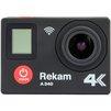 Rekam A340 4K (черный) - ВидеокамераВидеокамеры<br>Экшн-камера, дисплей 2, разрешение дисплея 320x240, разрешение видео: 4K (30к/c), Full HD (60 к/с), HD (120 к/с).<br>
