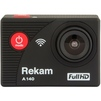 Rekam A140 Full HD (черный) - ВидеокамераВидеокамеры<br>Экшн-камера, дисплей 2, разрешение дисплея 320x240, разрешение видео: Full HD (30 к/с), HD (30 к/с).<br>