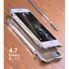 Чехол бампер для Apple iPhone 7, 6, 6s (Luphie Sports-Car) (серебристый) - Чехол для телефонаЧехлы для мобильных телефонов<br>Чехол-бампер обеспечивает надежную защиту корпуса смартфона от грязи, царапин, потертостей и других негативных внешних воздействий.<br>