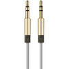 Кабель AUX Jack 3.5mm - Jack 3.5mm 2м (Baseus Fluency Audio Cable WEBASE2AUX-LA0V) (золотистый) - Кабель, разъем для акустической системыКабели и разъемы для акустических систем<br>Baseus Fluency Audio Cable позволяет увеличить расстояние между подключаемыми устройствами, не ухудшая при этом качество звука. Кабель выполнен из прочных надежных материалов, он износоустойчив и прослужит Вам долгое время.<br>