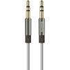 Кабель AUX Jack 3.5mm - Jack 3.5mm 2м (Baseus Fluency Audio Cable WEBASE2AUX-LA0G) (серый) - Кабель, разъем для акустической системыКабели и разъемы для акустических систем<br>Baseus Fluency Audio Cable позволяет увеличить расстояние между подключаемыми устройствами, не ухудшая при этом качество звука. Кабель выполнен из прочных надежных материалов, он износоустойчив и прослужит Вам долгое время.<br>