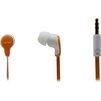Smartbuy Fanatik (SBE-4030) (оранжево-белый) - НаушникиНаушники<br>Проводные внутриканальные наушники, динамики 10 мм, частотный диапазон наушников: 20 Гц-20 кГц, сопротивление наушников 16 Ом, подключение minijack 3.5мм.<br>