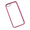 Чехол накладка для Apple iPhone 5, 5s, SE (R0003624) (прозрачный, розовый) - Чехол для телефонаЧехлы для мобильных телефонов<br>Плотно облегает корпус и гарантирует надежную защиту от царапин и потертостей.<br>