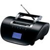 Supra BB-103UB (черный) - МагнитолаМагнитолы<br>Аудиомагнитола, 6Вт, встроенный модуль Bluetooth, питание от сети/аккумулятора.<br>
