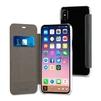 Чехол-книжка для Apple iPhone X (Muvit Folio Case MUFLC0091) (черный) - Чехол для телефонаЧехлы для мобильных телефонов<br>Чехол плотно облегает корпус и гарантирует надежную защиту от царапин и потертостей.<br>